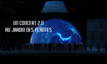 Dassault Virtual Harmony concert at the Jardin des plantes in Paris