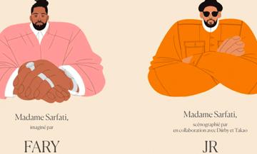 Comedy Club de Fary Madame Sarfati designé par JR