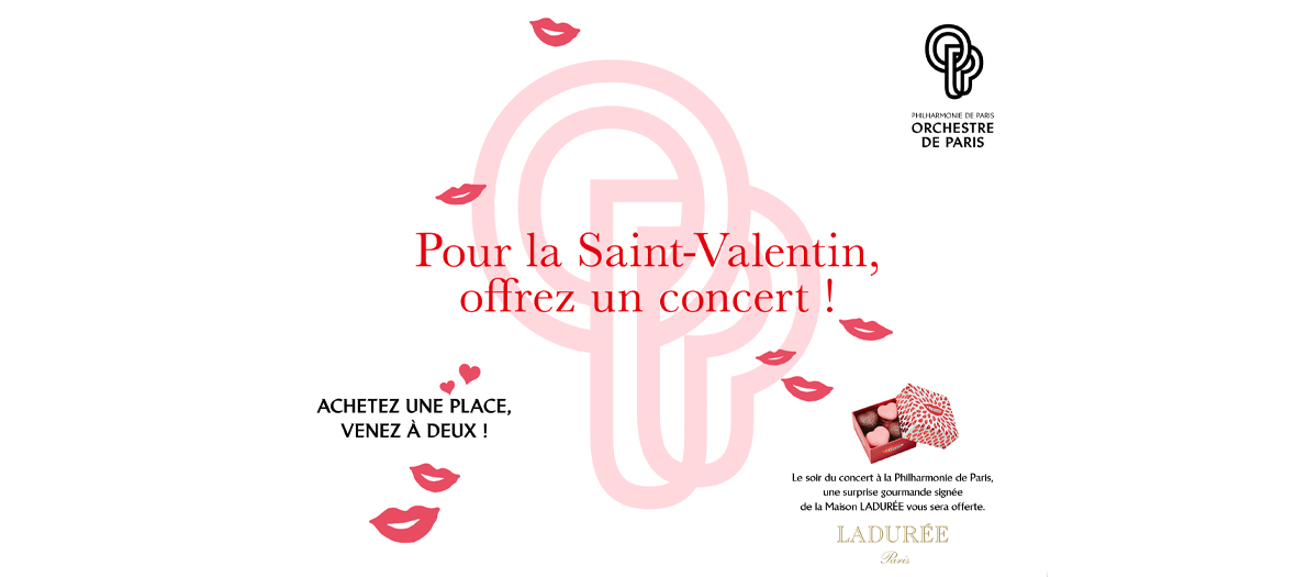 For the Valentine's day, offer a concert