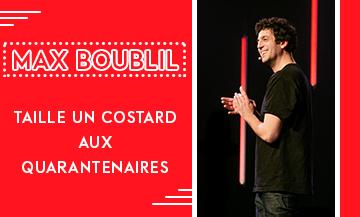L'humoriste Max Boublil à L'europeen pour son Nouveau Spectacle