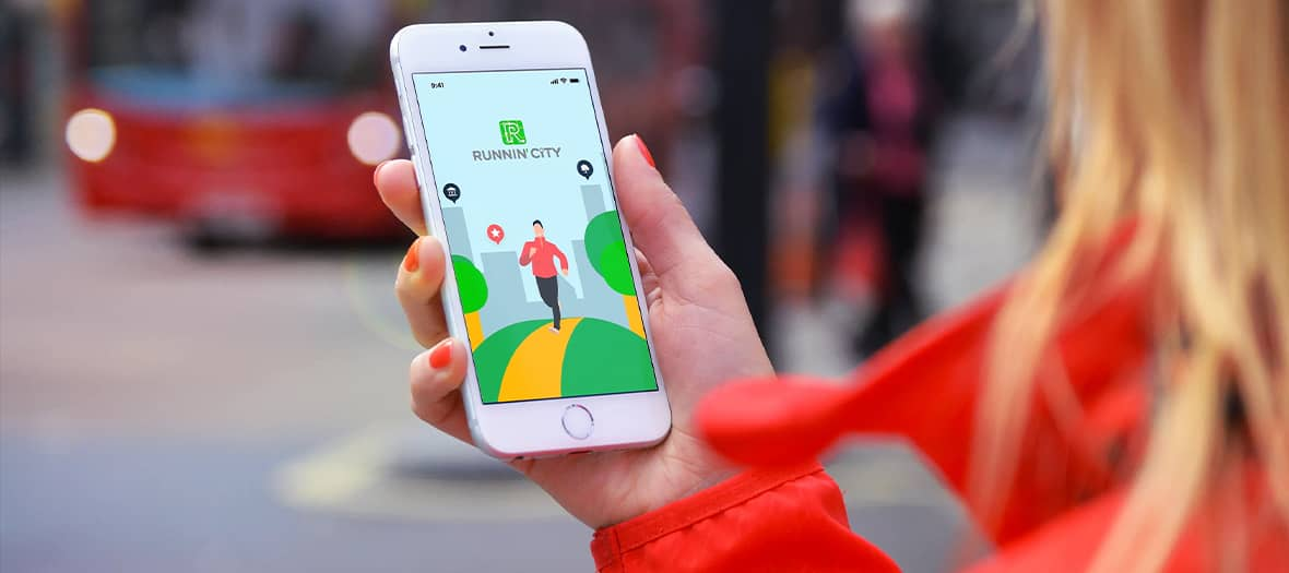 The running city app to discover Paris