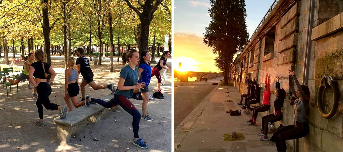 Nearly 60 guided tours throughout Paris with running city