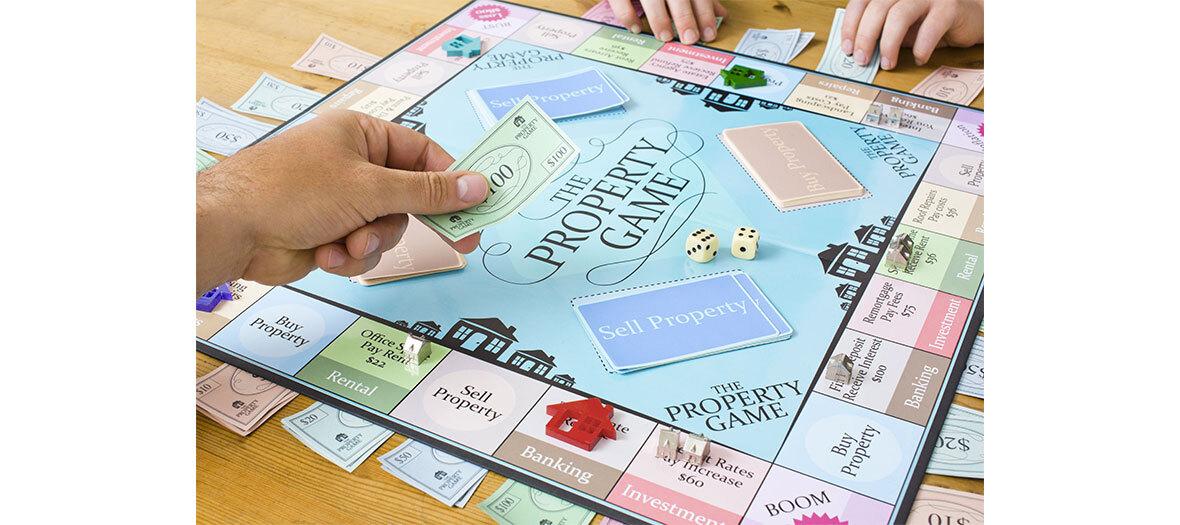 Appli du jeu de société monopoly