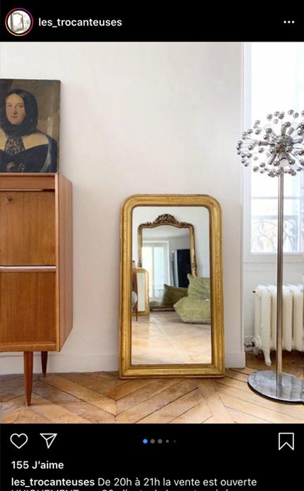 Les trocanteuses regroupe les plus beau miroirs vintage