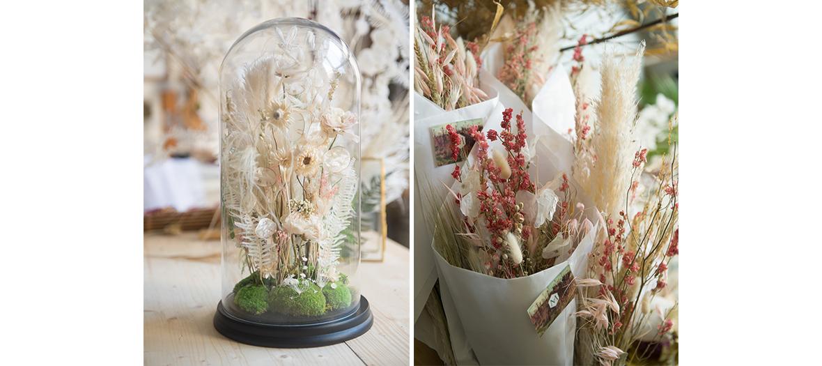 la designer fleuriste Miyoko Yasumoto a su travaille sur l'Ikebana
