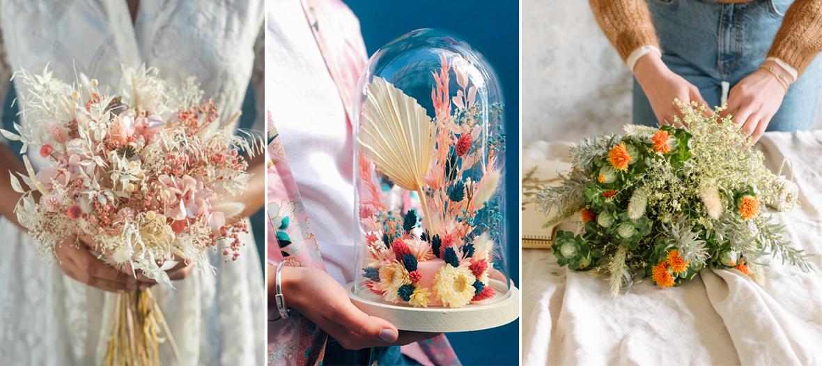Les plus belles adresses pour les fleurs séchées à Paris