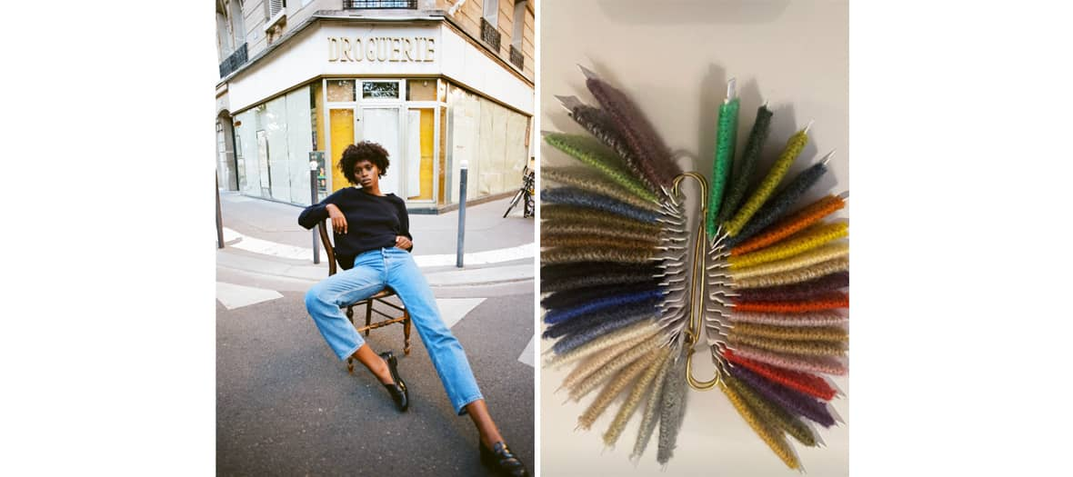 The linnea lund taylored cashmere boutique in Paris