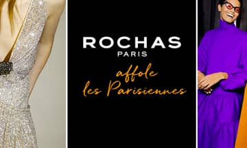 Rochas opens a new store in Saint-Germain-des-Prés in Paris.