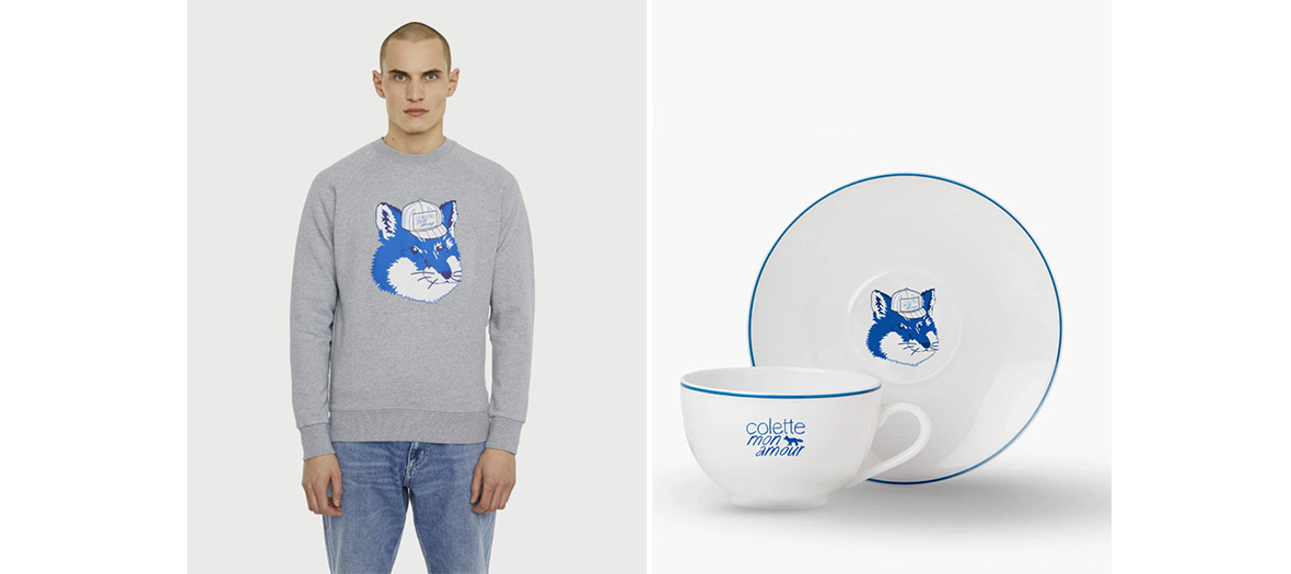 Colette mon amour fashion movie sweater, mug and plate