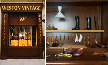 Jm Weston Vintage fashion store for men to recycle or new shoes