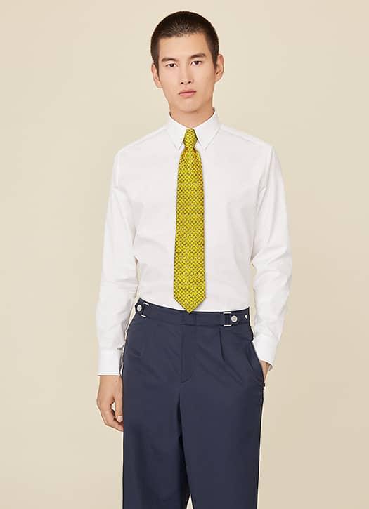 Cravate en twill de soie, Hermès