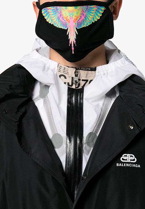 Masque à imprimé graphique, Marcelo Burlon County of Milan