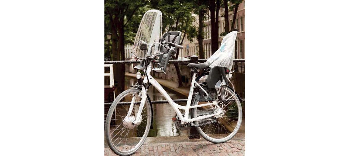 Pare-brise vélo en polycarbonate, Polisport