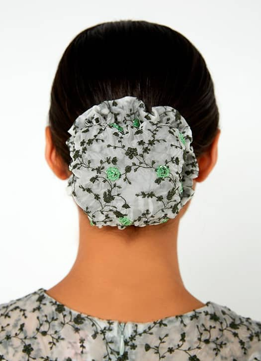 Rebecca Bun Cover - Green, Shrimps