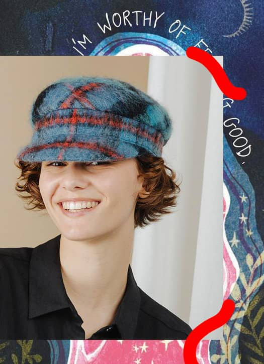 Casquette Maltaise Mohair, Anthony Peto