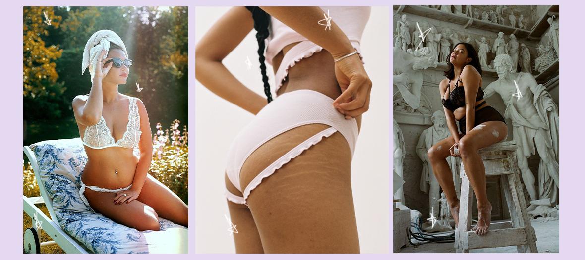 Lingerie body positive de Marie Yat, Gang de Fesses et Lonely Label