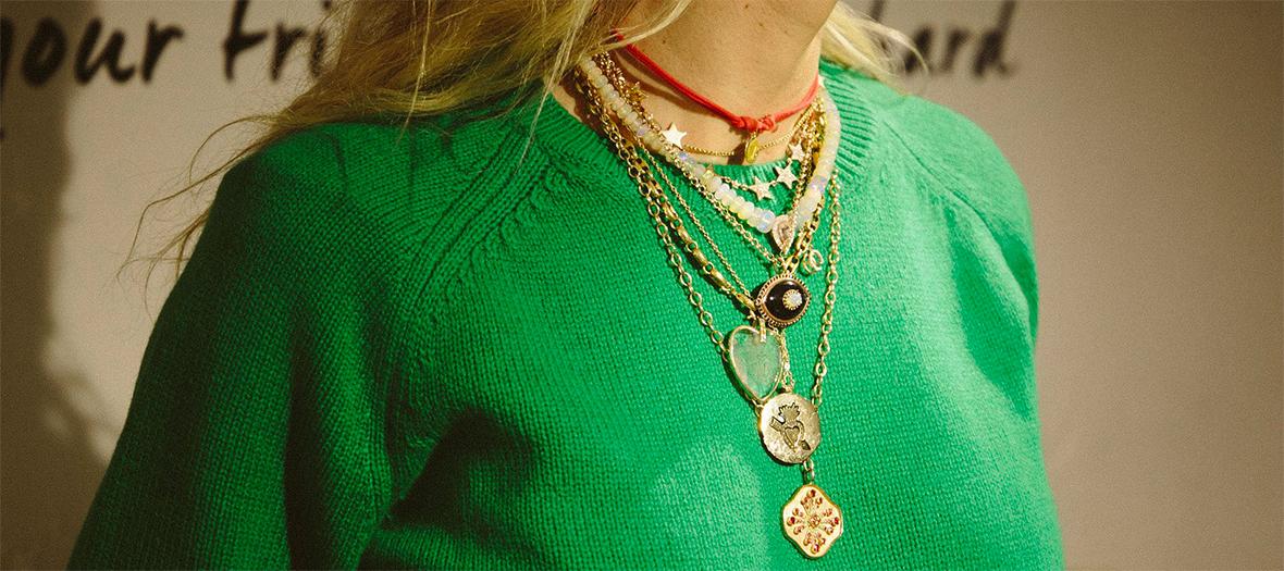 Les bijoux de chez Cleopatra's Bling, Mad Lords et Dorette chez WHITE BIRD