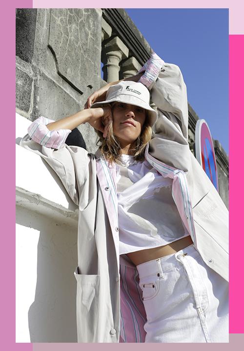 Collection de looks acidulés, sexy, colorée et inspirée des 70's du Label Fraîche