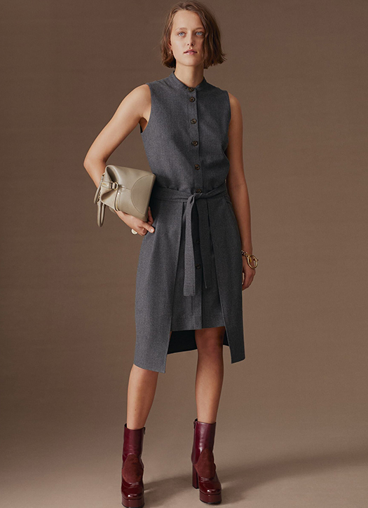 Robe, bottines, sac, le tout See by Chloé