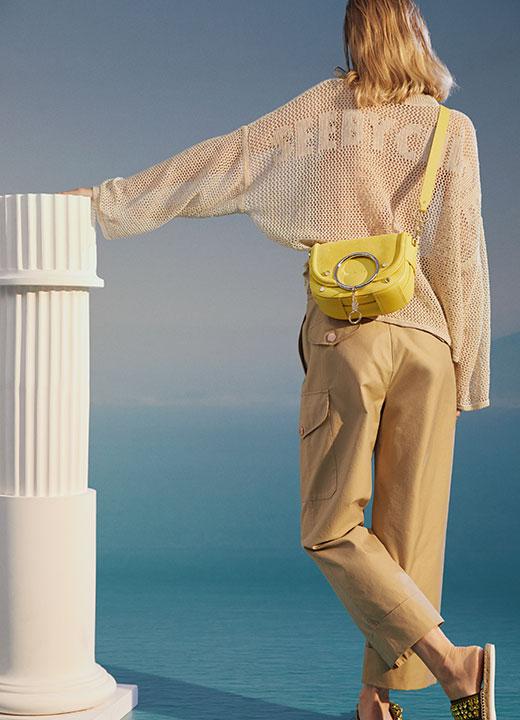 Pantalon cargo, See By Chloé