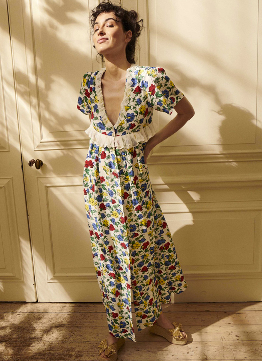 Valentina Dress Dakota Meadow, Yolke