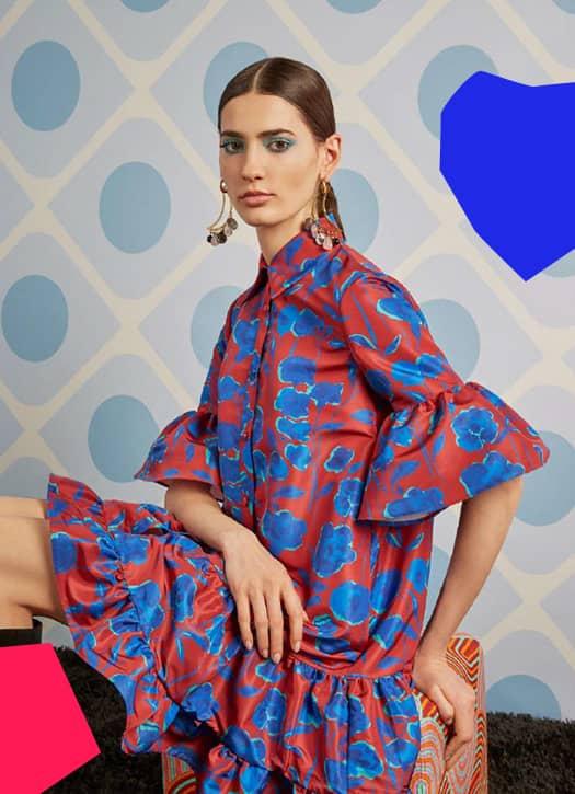 Robe Choux Dress, La Double J