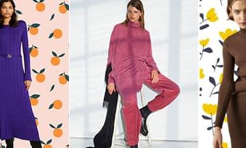 Les nouvelles tendances des robes en maille avec Zara, Sessùn, Scotch & Soda,  Sandro, Samsøe Samsøe,  Maje,  H&M, Claudie Pierlot, Caroll et See by Chloé