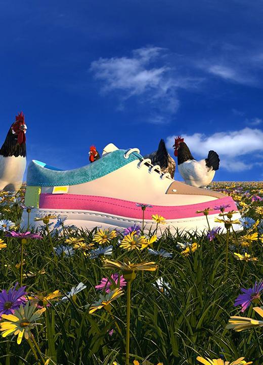 Sneakers Twins, Camper