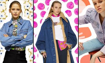 Retrouvez les tendances printemps été 2020 des vestes en jean avec Sandro, Casablanca, Mango, Isabel Marrant, Patou, Topshop, See by chloé et Pepe jeans
