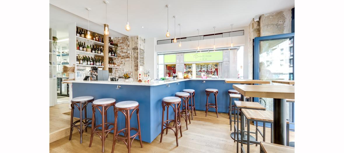 Bar de la crêperie brutus à Paris