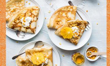 Comment faire de délicieuses crêpes à la fleur d'oranger ?