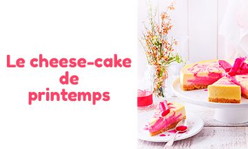 Recette Cheese Cake Rhubarbe
