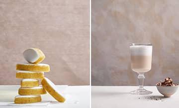Recette à base de Calisson d'Aix et de lait d'amende