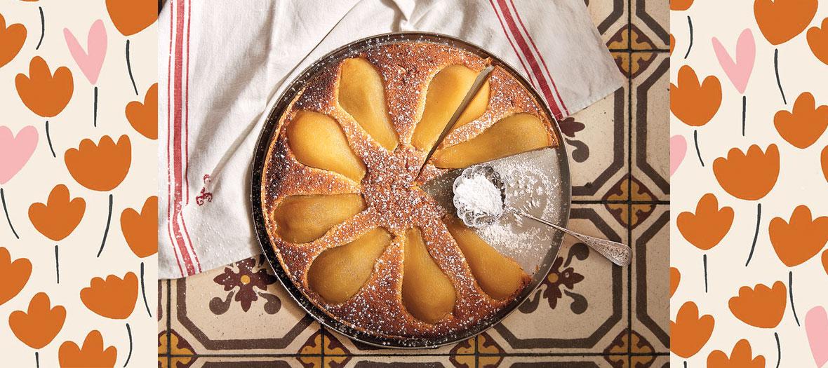 Recette de la tarte aux poires