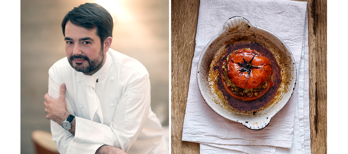 Recette des Tomates Farcies de Jean François Piège