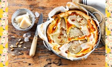 Faire un tarte aux poires rapidement