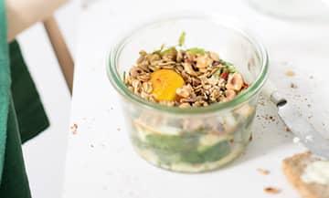 La recette du granola salé de Catherine Kluger