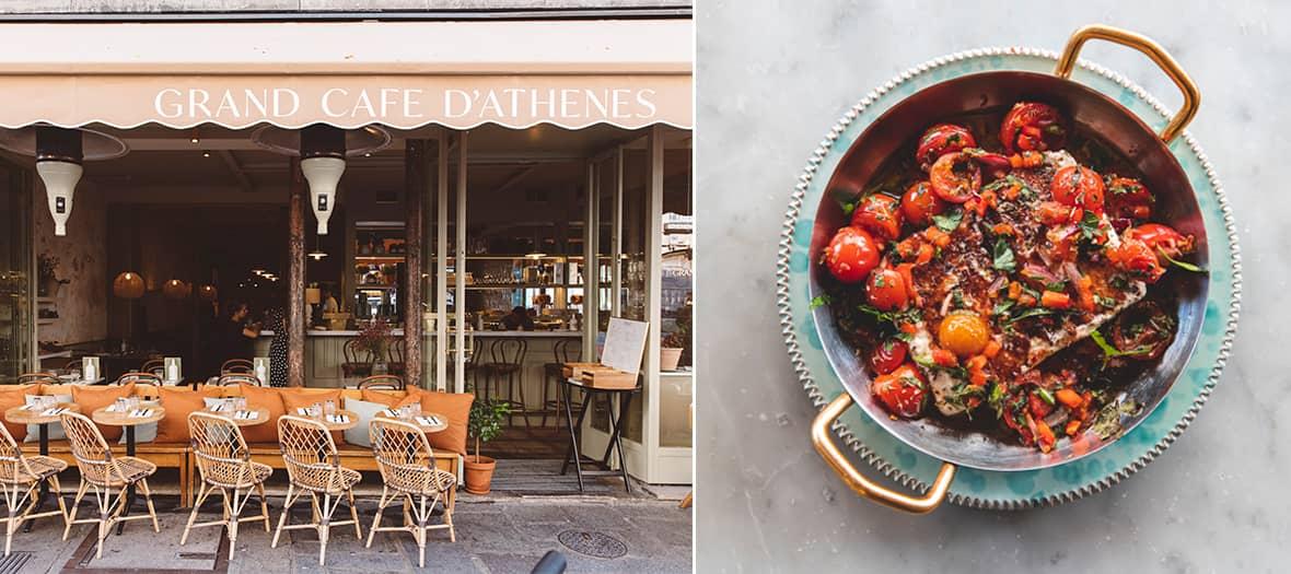 La recette de la Feta Psiti du Grand Café d'Athène
