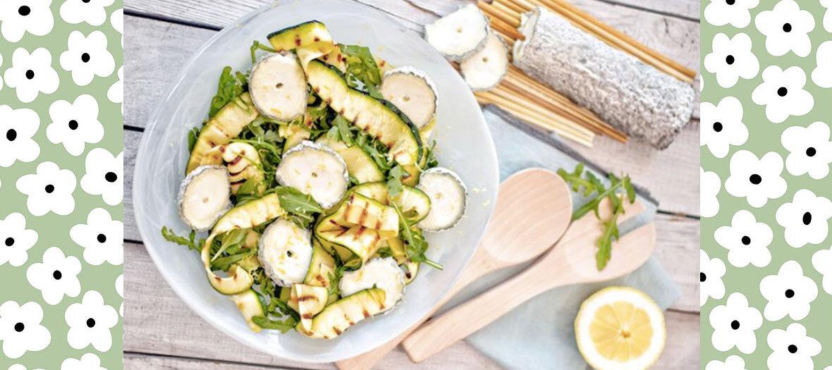 Recette Salade Chevre Courgette