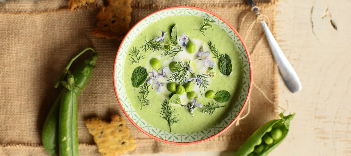 Recette Veloute Petits Pois
