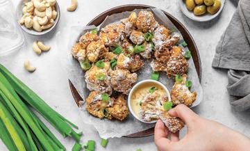 Recette veggie et healthy de nuggets de chou-fleur