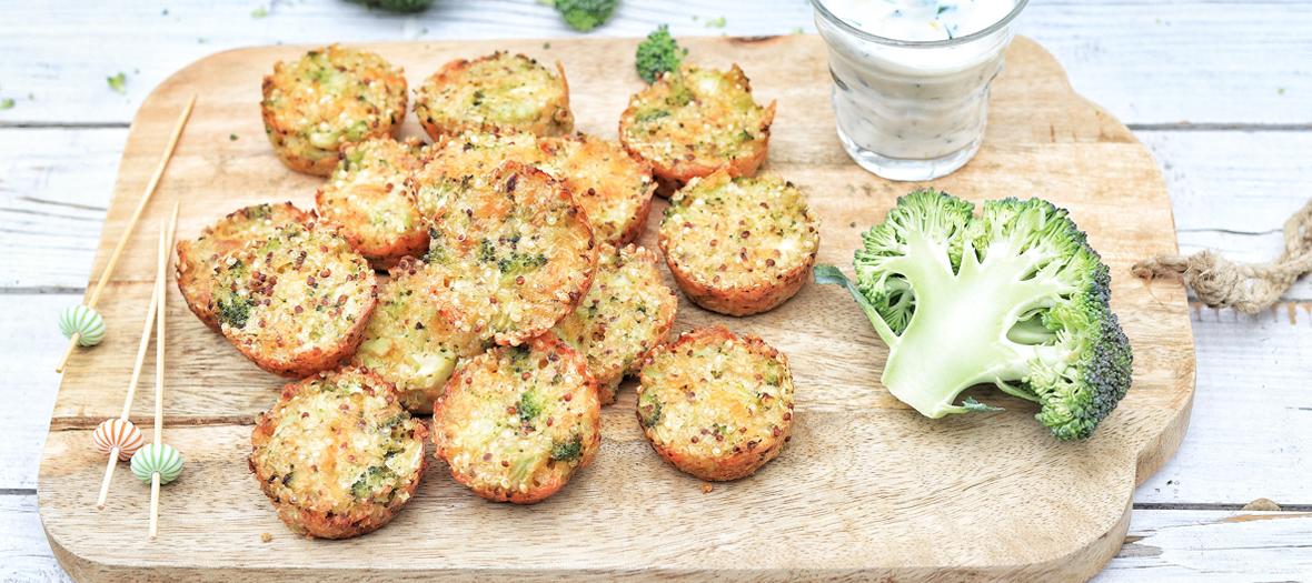 Recette Croquettes Brocolis