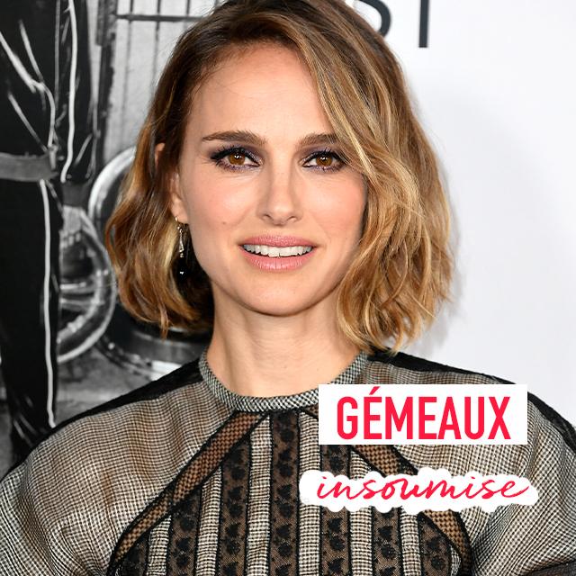 Natalie Portman est gémeaux