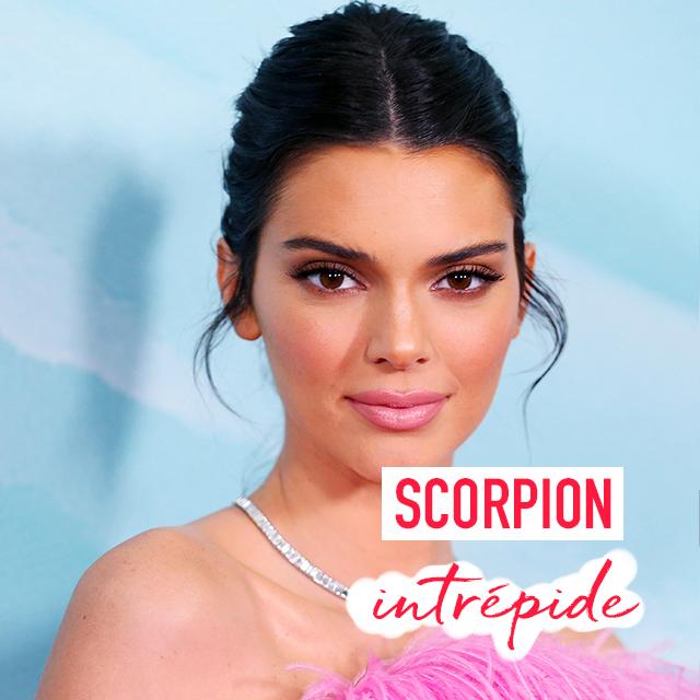 Kendal Jenner est du signe du scorpion
