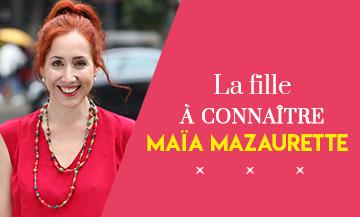 Portrait de Maia Mazaurette