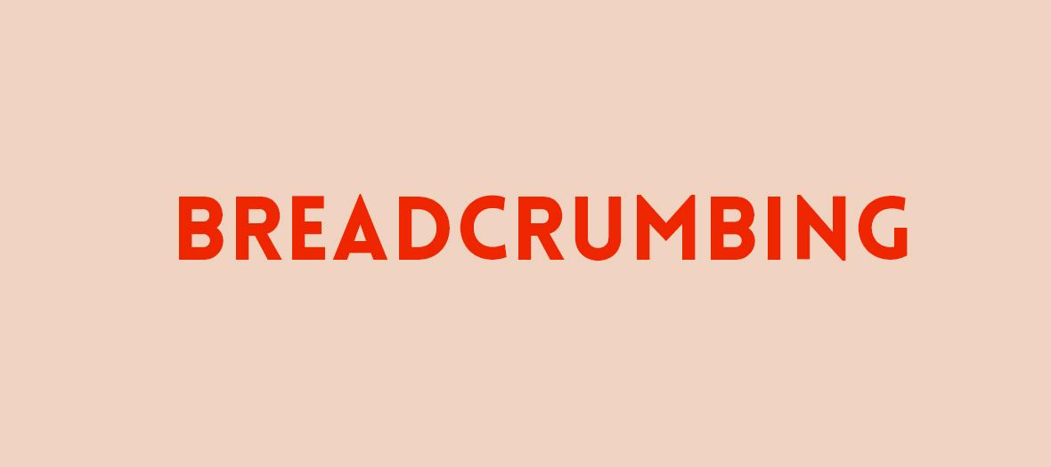 Breadcrumbing veut dire jeter quelques miettes d'attention sur quelqu'un