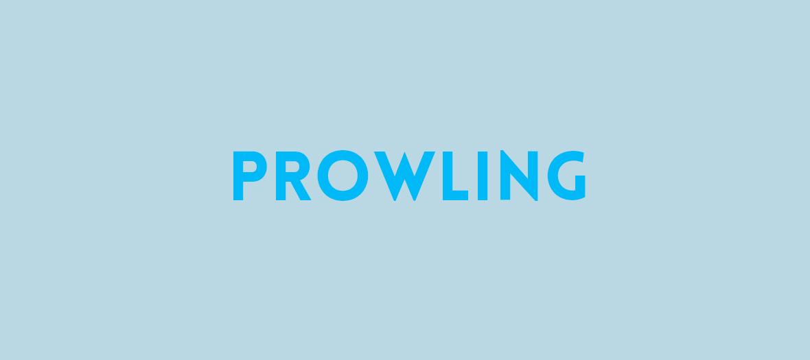 prowling veut dire Fuis-moi je te suis, suis-moi je te fuis