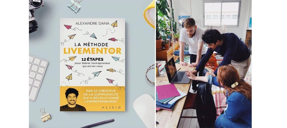 Les formation Livementor sur 12 thématiques comme marketing digital, e-commerce, comment créer son site etc...