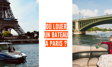 Where to rent a boat without permit in Paris ?