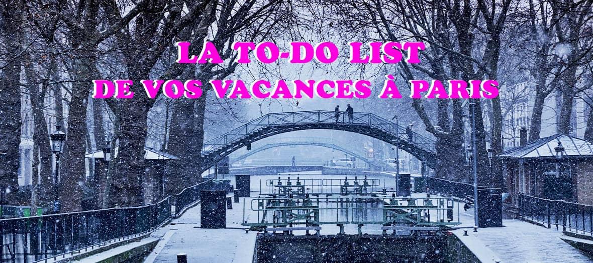Vacances De Noel Paris
